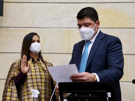 Senadora llanera Maritza Martínez, del Partido de la U, Primera Vicepresidenta del Senado