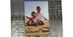 30012 Rivet 5x7 Wooden Photo Frame