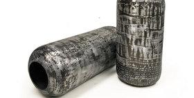 69018 Set of 2 Metric Bean Vase