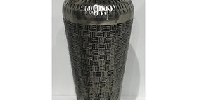 52012 Medium Checker Strike Vase-Ant Nckl