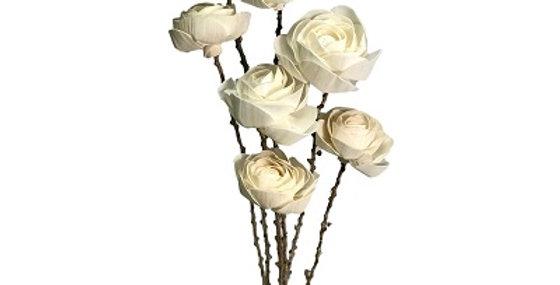7 Stem Tea Rose Drop-in Bouquet