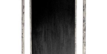 Grocery List Iron Blackboard (Distressed White)