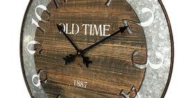 10428 Lexington Cut-Out Wall Clock