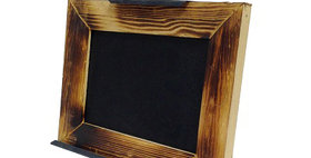 80003 Horizontal Chalkboard with Rose Easel