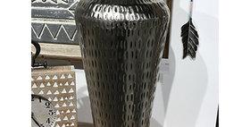 52016 Large Strike Vase-Ant Nickel
