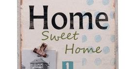 694632 HOME...WALL W/MEMOCLIPS