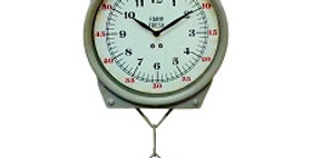 30124 Hanging Scale Wall Clock