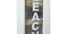 74028 Beach Wall Plaque