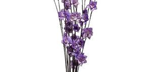 41020 12 Stem Ting Rukmani Flower Branches - Lavender