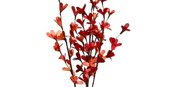 Palm Lily Drop-in Bouquet-Orange & Burnt Red