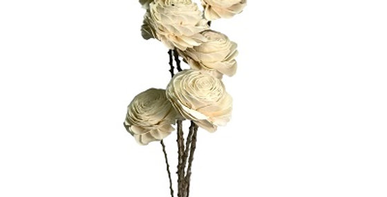6 Stem American Beauty Rose Drop-in Bouquet