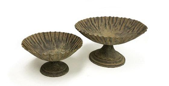 Set of 2 Vintage Compote