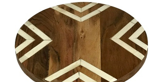 79029 Herringbone Inlaid Trivet