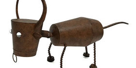 10245 Bull Bobble Head Animal