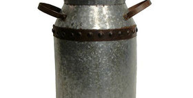 10015 Milk Can Galvanized