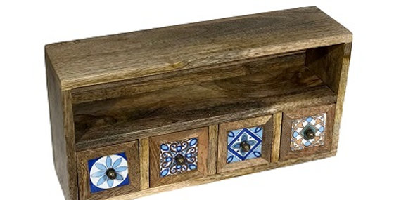 79056 Constantinople 4-Drawer Spice Cabinet