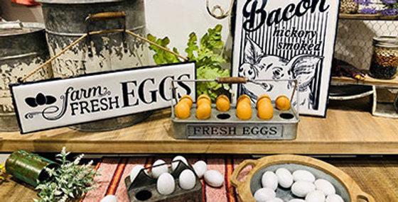 Farm Fresh Eggs Wall Sign