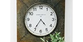 10183 Boiler Room Wall Clock
