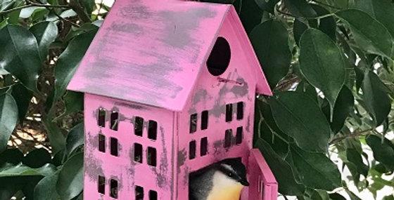 64027 Bird Salon-Cotton Candy