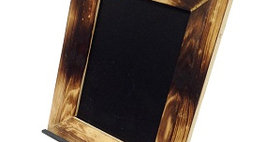 80002 Vertical Chalkboard with Rose Easel