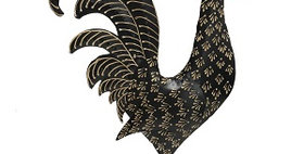 62014 Barney the Damask Rooster