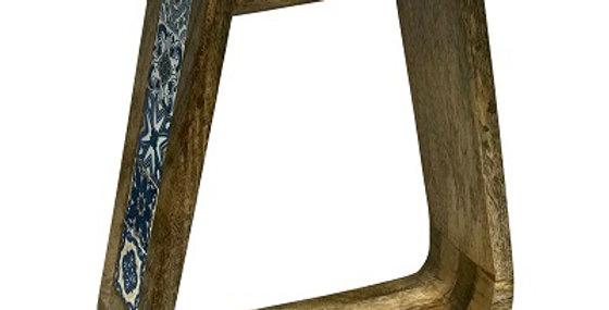 79064 Azulejos Stirrup Tile Wall Shelf