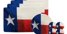 99999 9 PieceTable Guard Set Texas Flag