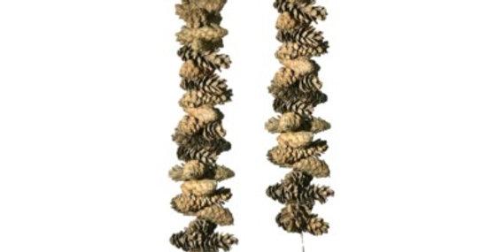 Set of 2 30 Sage Pine Cone Garland