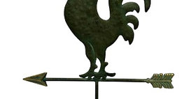 20136 Rooster Weathervane Table Decor
