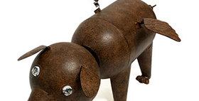 10264 Flying Pig Bobble Head Animal