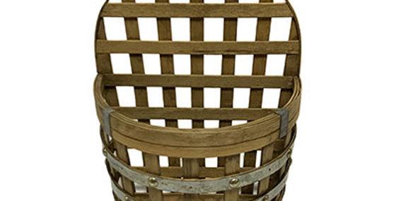 10243 Barrel Bamboo Wall Basket