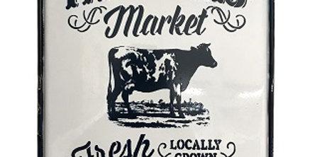 Farmers Market Wall Sign