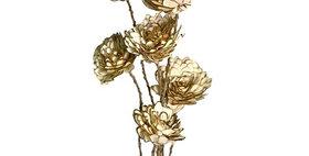 41176 6 Stem Sliced Almond Flower Drop-in Bouquet
