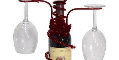 Grapevine Topper Stem/Candleholder-Merlot-28595