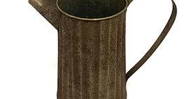 10304 Metal Rustic Pitcher