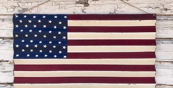 64018 USA Corrugated Flag