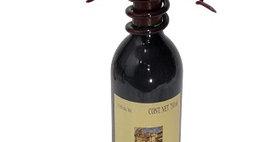 88602 6 Cork Display Bottle Topper-Merlot-28602