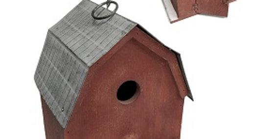 50023 Wood Barn Birdhouse