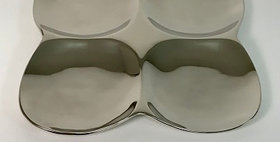 55015 4-SECTION Serving PLATE