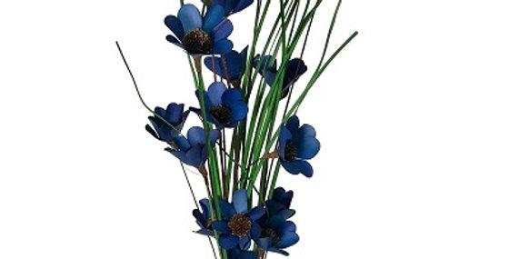 6 Stem Colbalt Blue Poppy