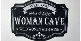 64021 Woman Cave Sign