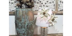 65001 Caribbean Copper Oval Vase