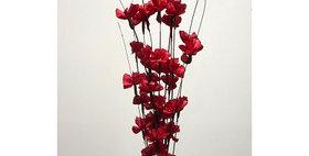 41120 12 Stem RED Buttercup Drop-in Bouquet