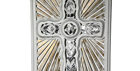 73037 Rays of Hope Framed Wall Cross