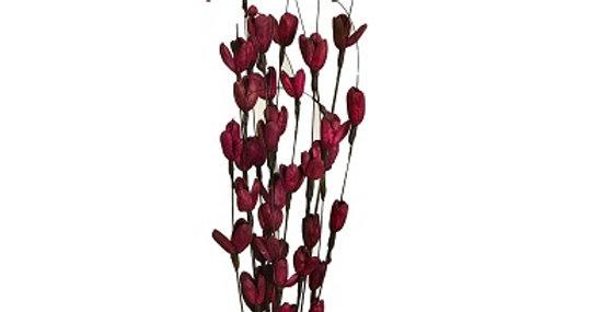 41160 12 Stem Wine Winter Pear Flower Drop-in Bouquet