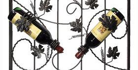 81597 Grapevine 2 Bottle Wine Rack-Meteor-21597