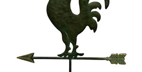 Rooster Weathervane Table Decor