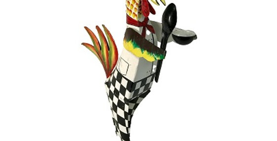 75016 CLAUDE Iron Rooster