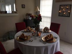 Women's Day Dinner Table