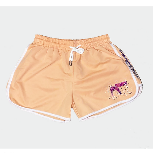 Painted Energy Peach Shorts